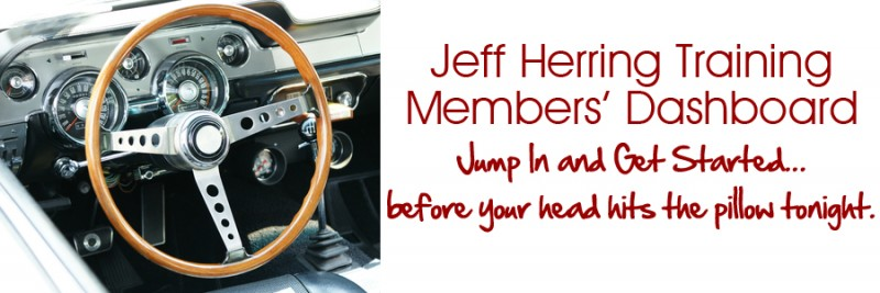 Jeff Herring Member Dashboard